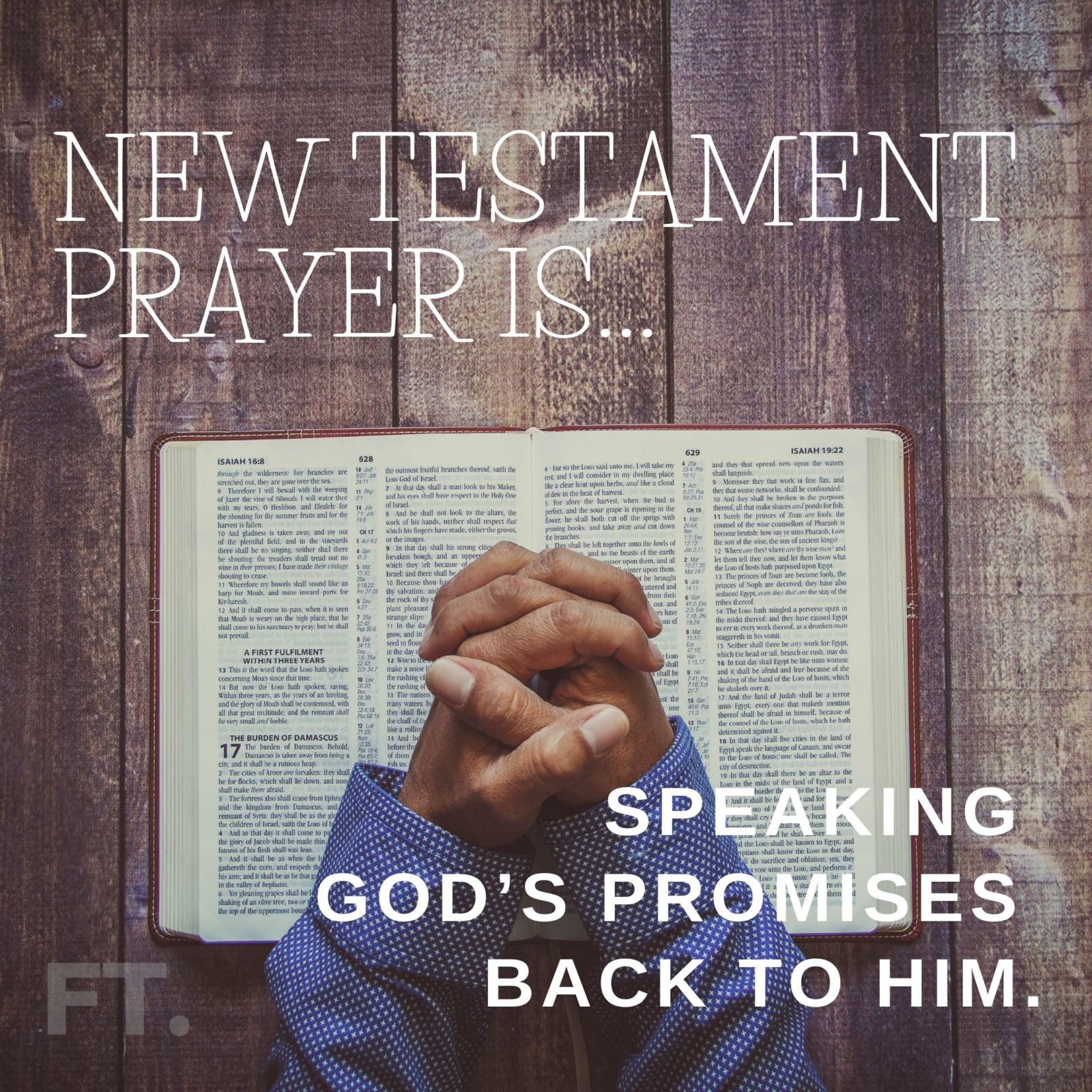 What does prayer look like under the New Covenant?