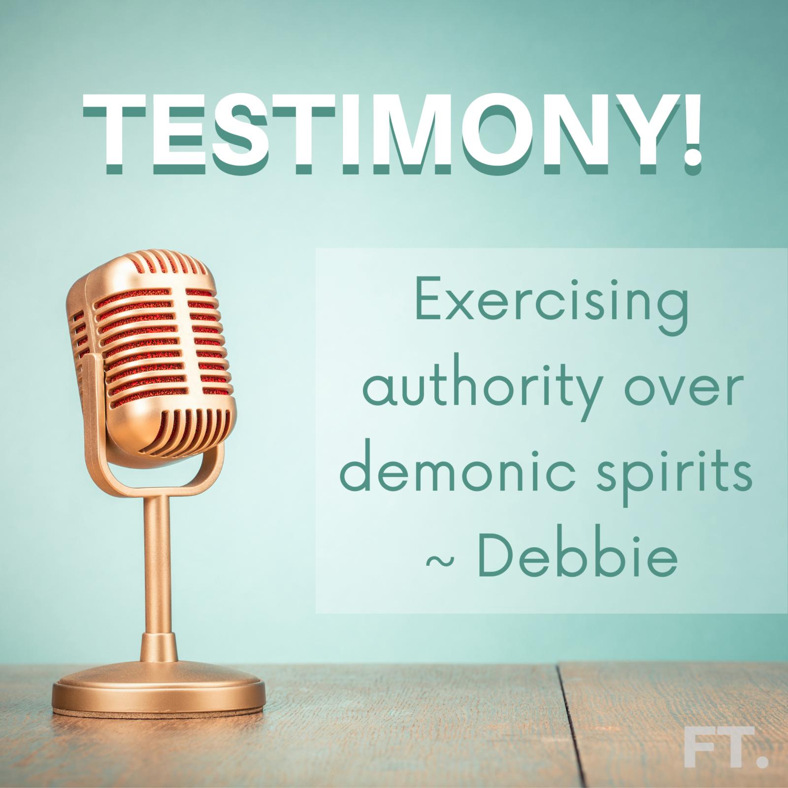 Testimony from Debbie