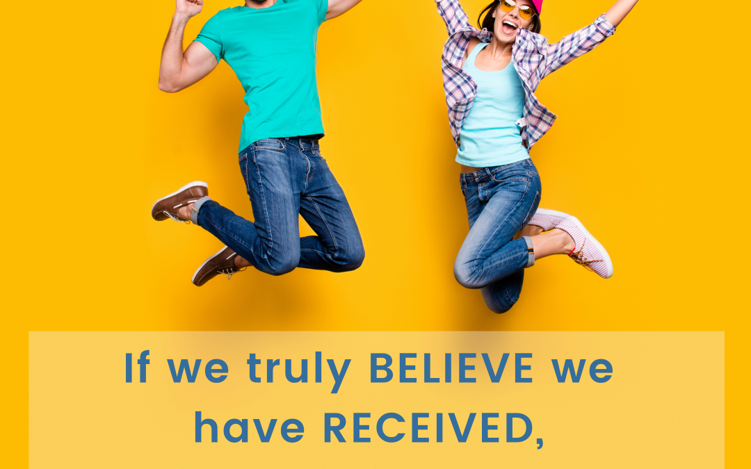 How Do We Know We Believe We Have Received?